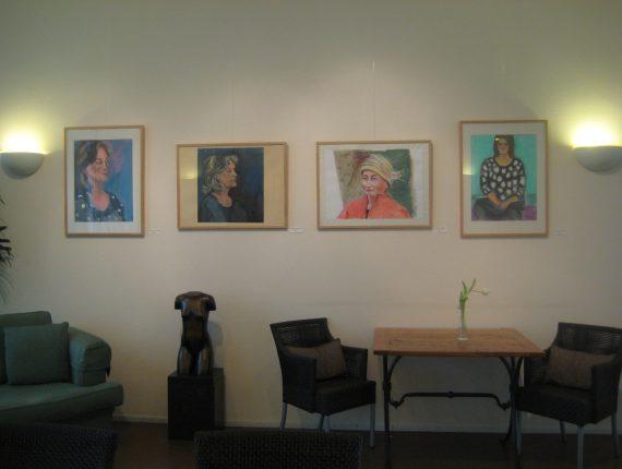 Portretten te zien in Vondelstede!