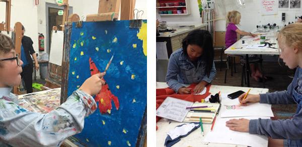 KinderKunst! Hét naschoolse kunstprogramma