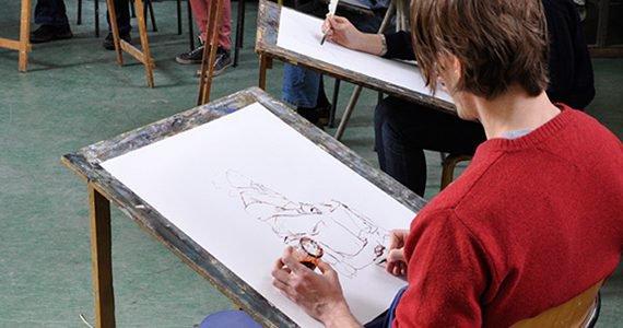 Zomerweek: Het model; tekenen en schilderen voor alle niveaus