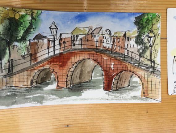 Cursus: Urban Sketching