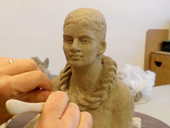 Model- en portretboetseren naar levend model
