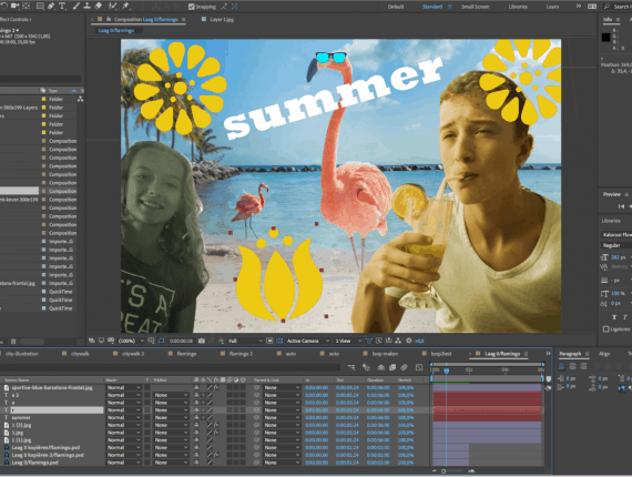 Zomerweek: After Effects Summer Moves