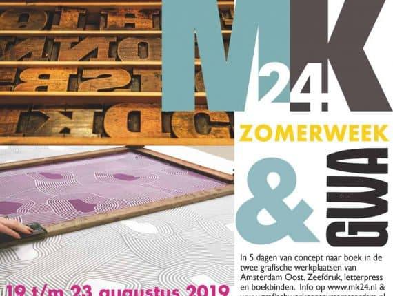 Zomerweek: Zeefdruk + Letterpress = Kunstboek