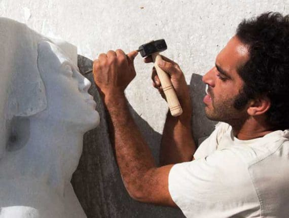 Sculpting in Marble