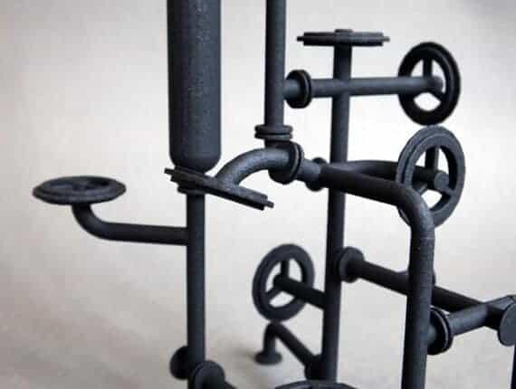 3Dprinten, 360 graden de wereld rond