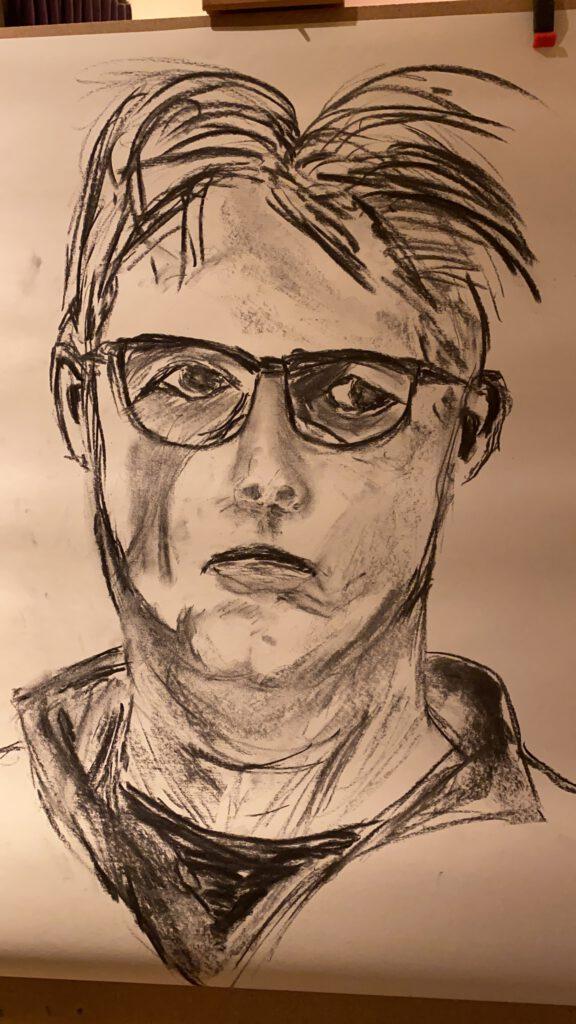 Poging tot zelfportret - Marcel