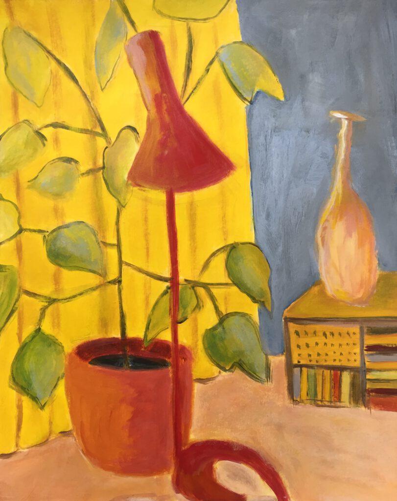 Interieur a la Matisse - Els Borgesius