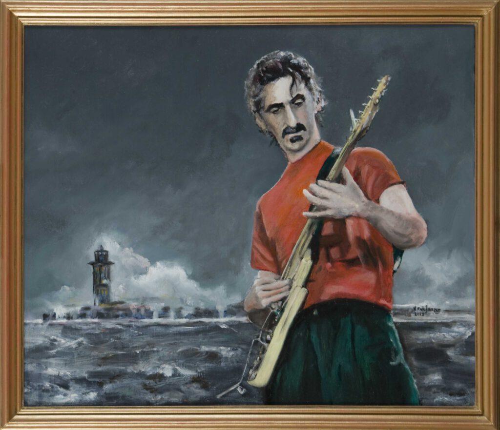 Zappa aan zee - Henk Janzen
