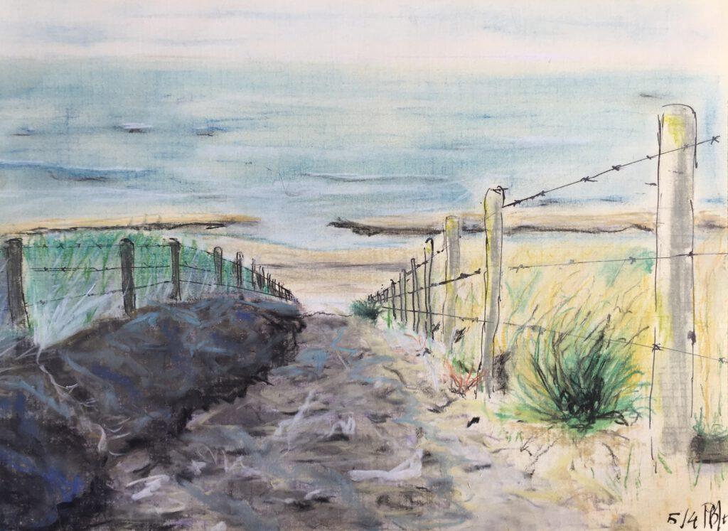 Zon zee strand - Mi-Jeanne