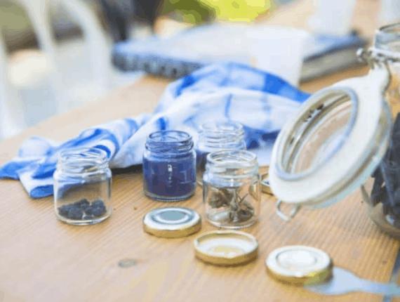 Natuurlijke inkten, Tie Dye en andere verfmethoden