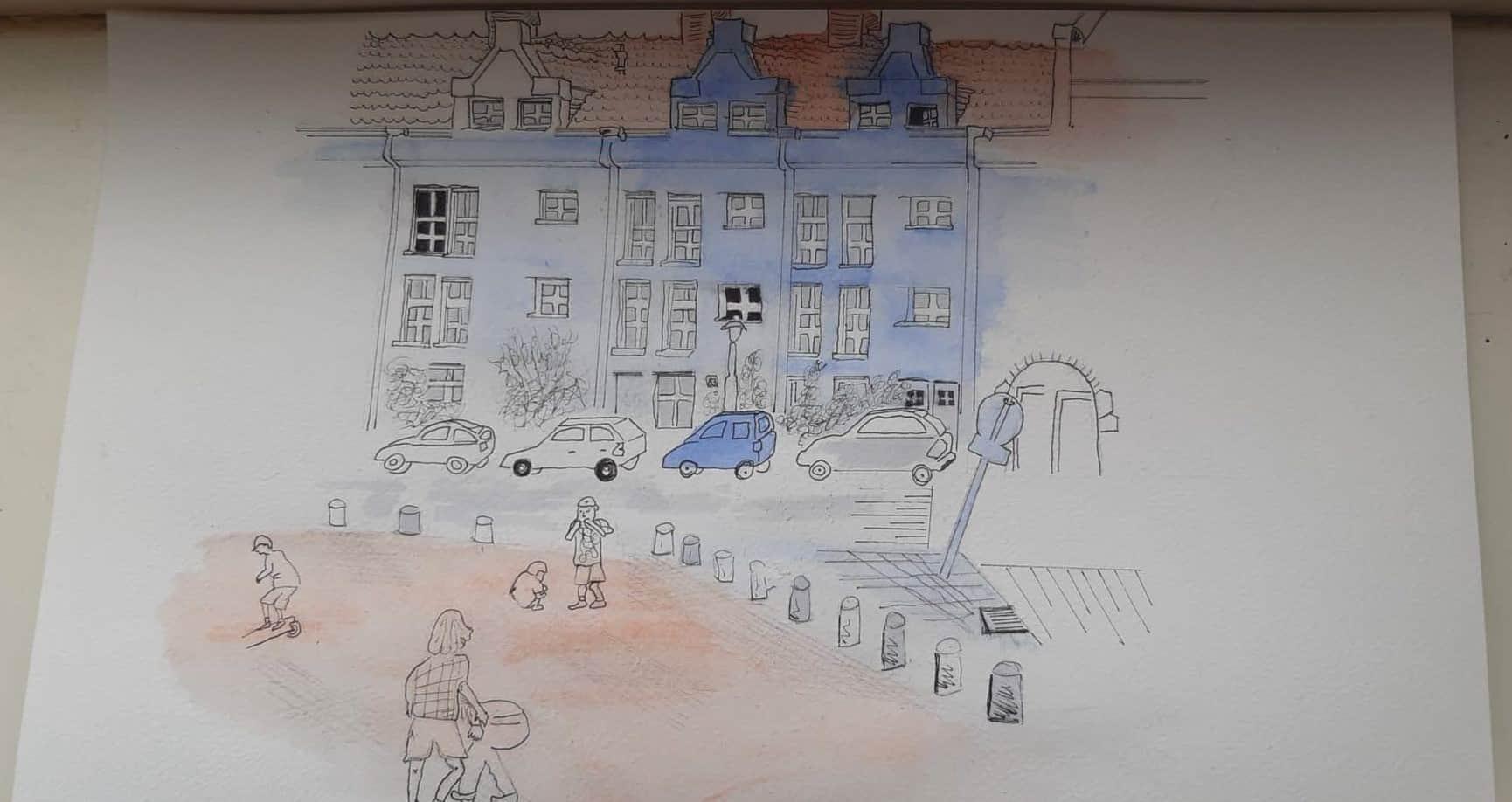 Stadsgezicht - Ingrid Zalme