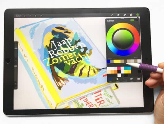 Zomercursus: Illustreren op de iPad