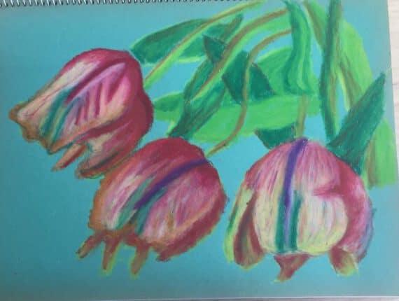 Teken en schilder de lente!