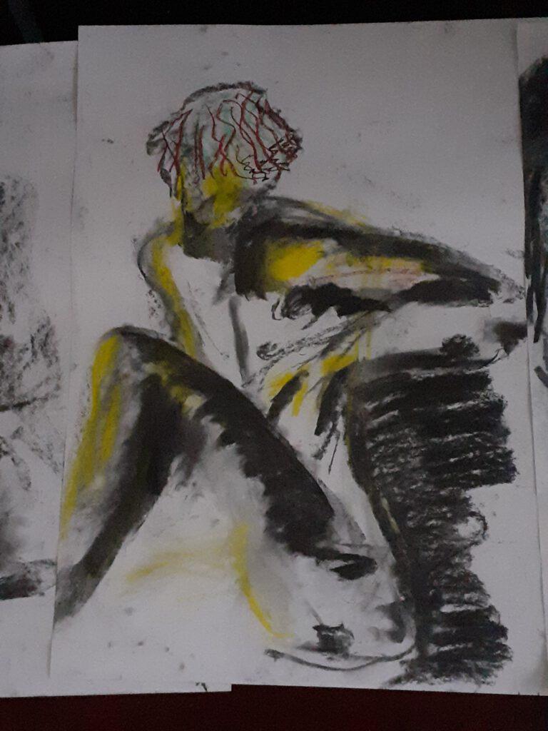 Man met geel - Katelijne Brouwer