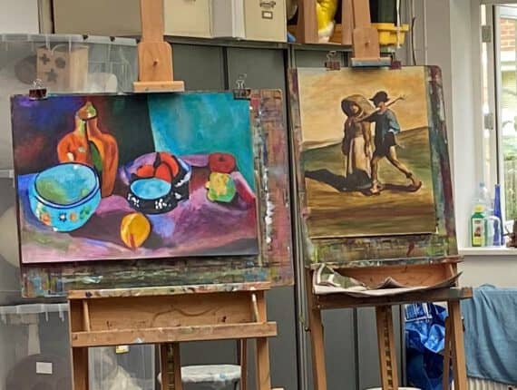 Online les: Tekenen & schilderen basis