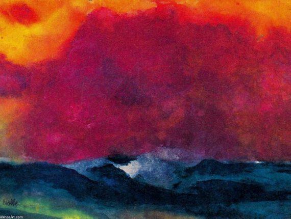 Schilderen Landschap in kleur